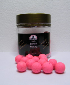 Honey (med) fluoro pink 14 mm